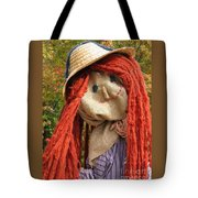 Ms Scarecrow Tote Bag