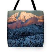 Mt Adams Sunset Tote Bag