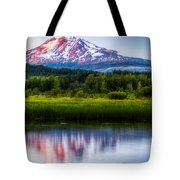 Mt Adams Sunset Tote Bag