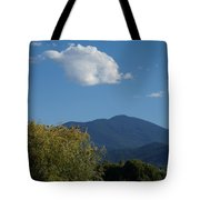 Mt Ashland In Late Summer Tote Bag