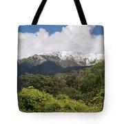 Mt. Aspiring National Park Mountains Tote Bag