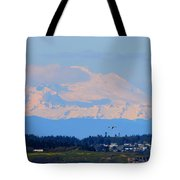 Mt. Baker Of Pacific Northwest Tote Bag