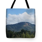 Mt Baldy Panorama From Grants Pass Tote Bag