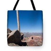 Mt. Bierstadt Summit Tote Bag