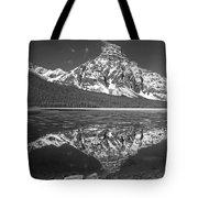 1m3641-bw-mt. Chephren Reflect  Tote Bag
