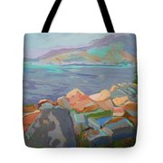 Mt. Desert From Schoodic Point Tote Bag