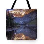 Mt Edith Cavell Reflection Tote Bag