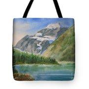 Mt. Edith Cavell W/c Tote Bag