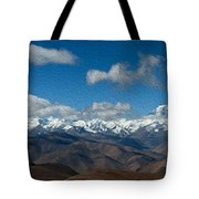 Mt. Everest And Himalaya Tote Bag