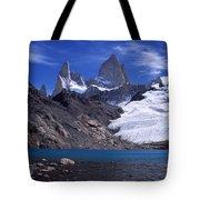 Mt Fitzroy And Laguna De Los Tres Tote Bag