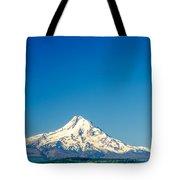 Mt. Hood And Blue Sky Tote Bag