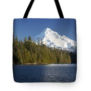 Mt Hood And Lost Lake Tote Bag