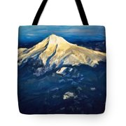 Mt. Hood From Above Tote Bag