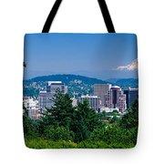 Mt Hood Portland Oregon Usa Tote Bag