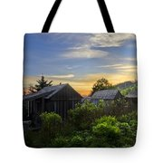 Mt Leconte Before Dawn Tote Bag by Debra and Dave Vanderlaan