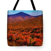 Mt Liberty And Mt Flume Tote Bag