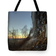 Mt Mckay Spring Waterfall Tote Bag