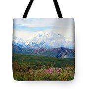 Mt. Mckinley Denali National Park Tote Bag