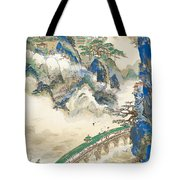 Mt Penglai Mountain Of Immortals Tote Bag