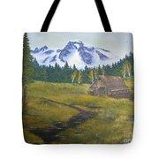 Mt Rainier Ranch Tote Bag