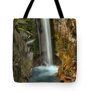 Mt Rainier Waterfall Tote Bag