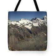 Mt Sefton Hooker Glacier And Mt Cook Tote Bag