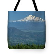 1a5637-mt. Shasta From Oregon Tote Bag