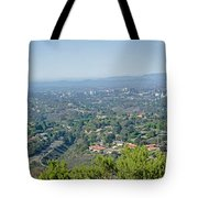 Mt. Soledad - View To The North Tote Bag