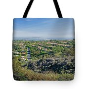 Mt. Soledad - View To The South Tote Bag