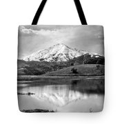 Mt. Tamalpais In Snow Tote Bag