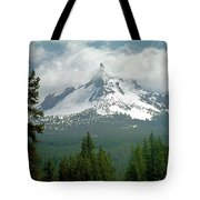1m5505-mt. Thielsen In Clouds Tote Bag