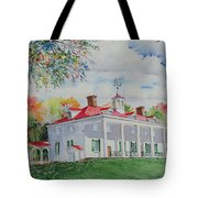 Mt. Vernon In The Fall Tote Bag