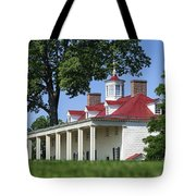 Mt Vernon Mansion Tote Bag