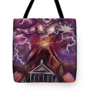 Mt. Vesuvius - Jupiter's Fury Tote Bag