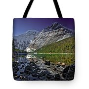 Mt.edith Cavell Tote Bag