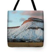 Mt.garfield Winter Tote Bag