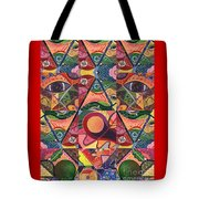 Much More Than A Face - A Joy Of Design Series Compilation Tote Bag