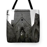 Muckross Abbey Steeple Tote Bag