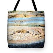 Mud Geyser Yellowstone Np 1928 Tote Bag