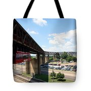 Mud Island In Memphis Tote Bag