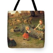 Mud Pies Tote Bag by Ludwig Knaus