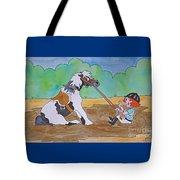 Mud Pony Tote Bag