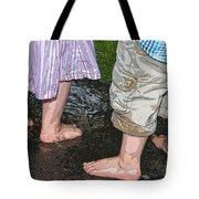 Mud Puddles Tote Bag