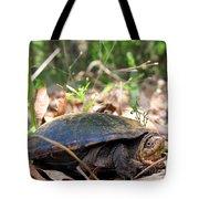 Mud Turtle Tote Bag