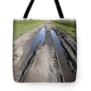 Muddy Country Road Tote Bag