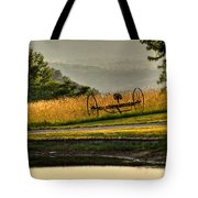 Muddy Pond Field Tote Bag