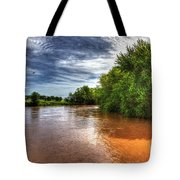 Muddy Waters Tote Bag
