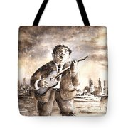 Muddy Waters In Chicago Tote Bag