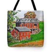 Mudhouse Mansion Tote Bag