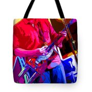 Muffler Guitar Tote Bag